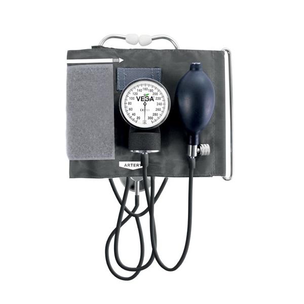 Вимірювач (тонометр) артеріального тиску Vega механічний з вбудованим стетоскопом