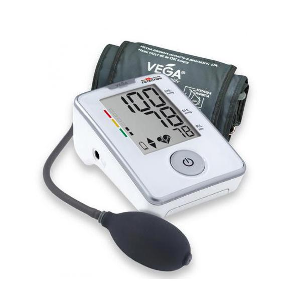 Вимірювач (тонометр) артеріального тиску VEGA напівавтоматичний