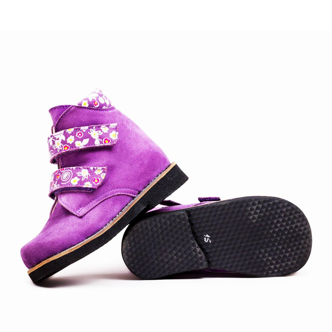 Ботинки ортопедические нубук