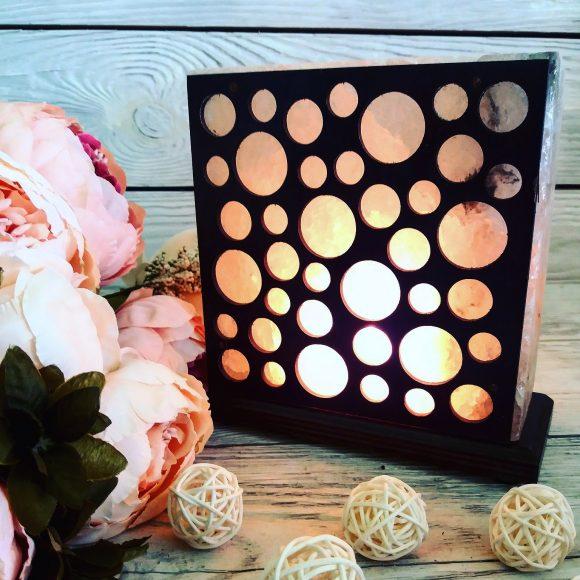 Соляна лампа «Кульки»
