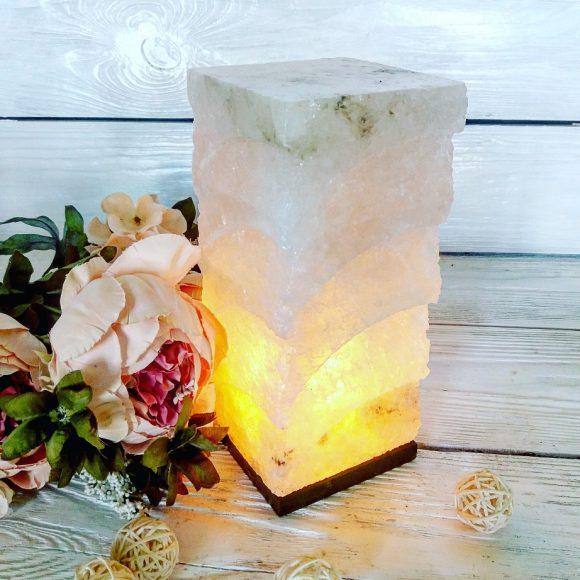 Соляна лампа «Хай-тек»