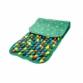 Килимок масажний з кольоровими каменями 100х40 см