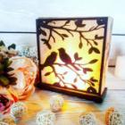 Соляна лампа «Птахи»