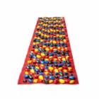 Коврик массажный с цветными камнями 150 х 40 см
