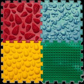 Массажный коврик Ортек Микс (4 пазла)