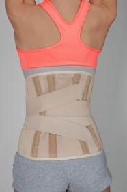 Корсет пояснично-крестцовый с 4-мя ребрами жесткости Orthokraine