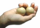 Массажные шары деревянные для разминки кисти